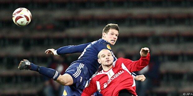 Salzburg verlor in Lüttich 2:3 trotz Pausenführung