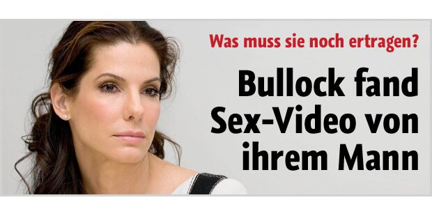 Sandra Bullock sah Jesses Sex-Videos