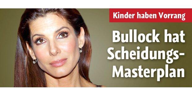 Scheidung: Bullock hat den Masterplan