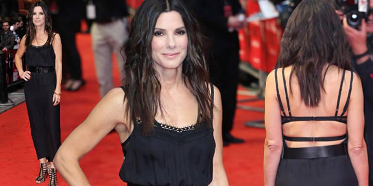 Sandra Bullock: Vorne Top, hinten Flop!