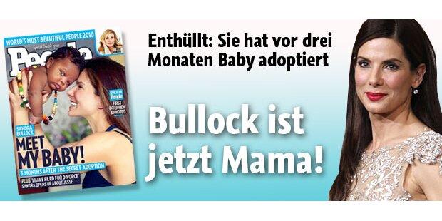 Sandra Bullock hat ein Baby adoptiert
