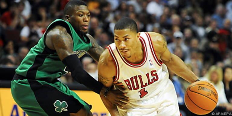 Bulls-Guard Derrick Rose in Aktion