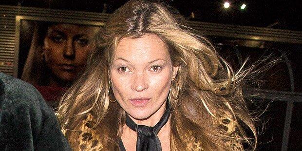 Verwirrspiel um Kate Moss