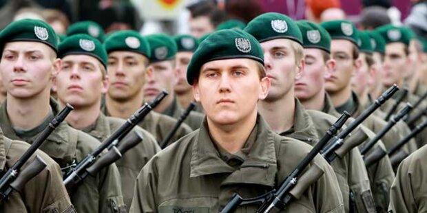 48 Prozent für die Wehrpflicht