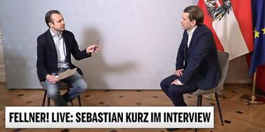 Bundeskanzler Sebastian Kurz mit Niki Fellner