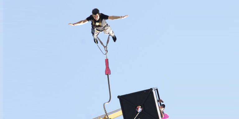 Wiener Innenstadt: Rekord-Jump von 192 Metern