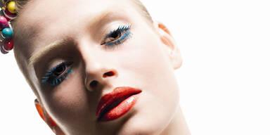 Bunte Make-up-Farben für den Frühling