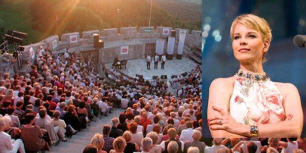 Garanca singt auf Burg Finkenstein