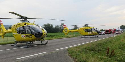 Burgenland: Horror-Crash fordert 9 Verletzte