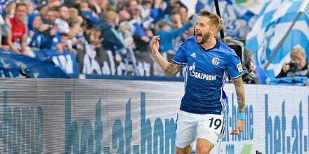 3:1 - Burgstaller schießt Schalke zum Sieg