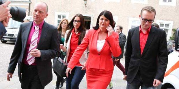 Gabi Burgstaller tritt von Polit-Bühne ab