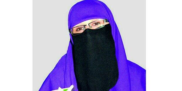Sie ist Europas erste Burka-Politikerin