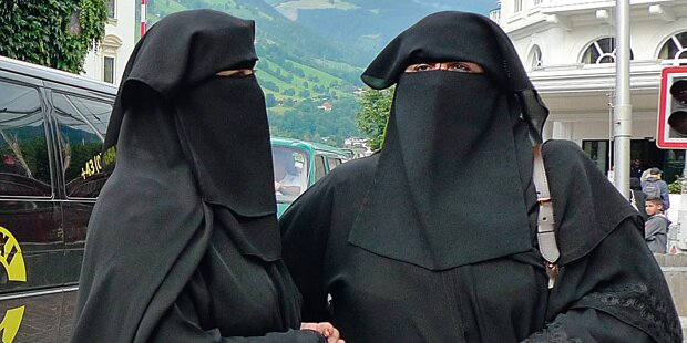 Nur Abmahnungen wegen Burka-Verbot