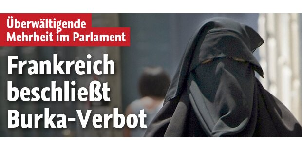 Frankreich: Burka-Verbot wird kommen