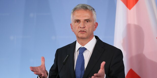 Schweizer Außenminister Burkhalter tritt zurück