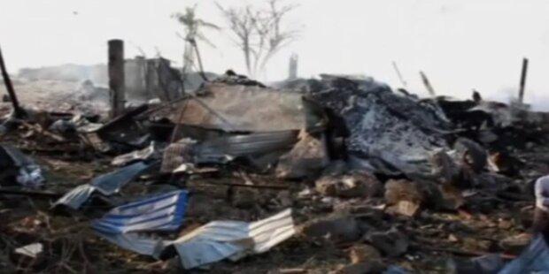 Burma: 17 Tote bei Lagerhaus Explosion