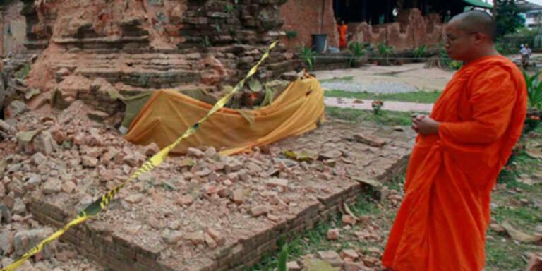 74 Tote nach schwerem Erdbeben in Burma