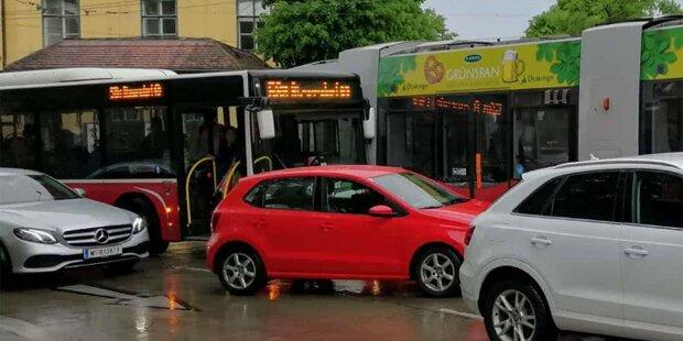 Wiener-Linien-Bus kollidierte mit Bim