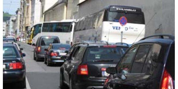 Konzept gegen Bus-Chaos in Salzburger Altstadt