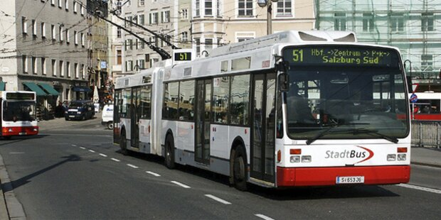 Kroate kapert Linienbus in Salzburg
