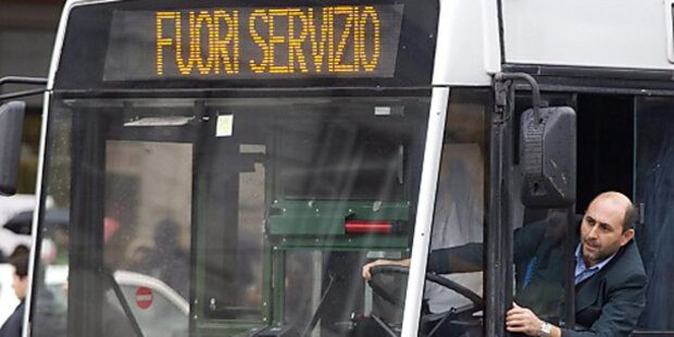 Italiener mieseste Busfahrer der Welt