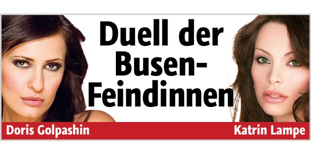 Das Duell der Busen-Feindinnen