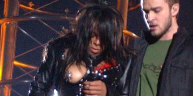 Busenskandal beim Superbowl: Janet Jackson justin timberlake