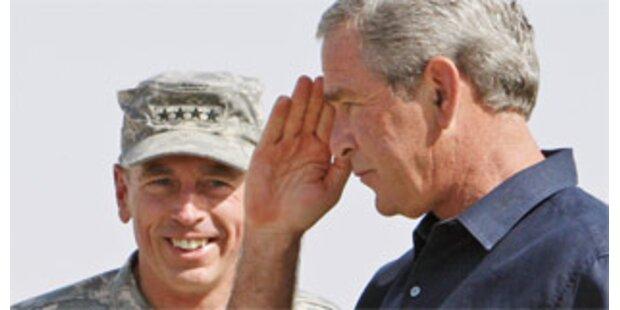 Bush hält Teilabzug für denkbar