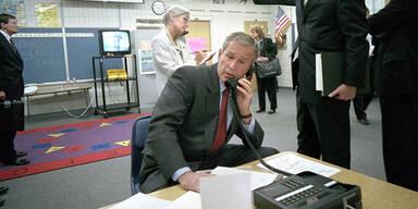 """George Bush: """"Ich wollte keine Panik"""""""