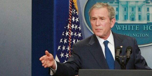 Bush attackiert Trump wegen Medienkritik