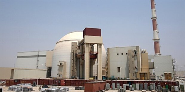 Iranisches Akw kurz vor Inbetriebnahme