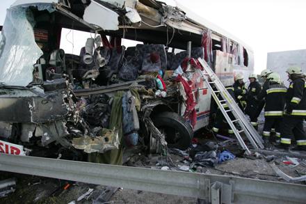 Busunfall Ungarn