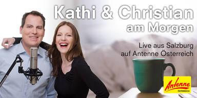 Kathi & Christian am Morgen