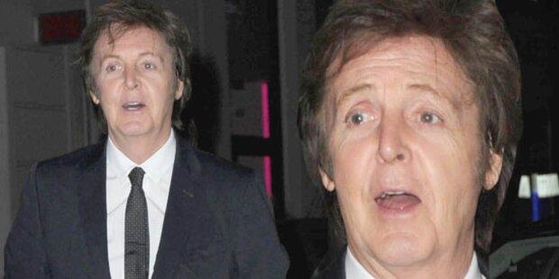 McCartney entgeht knapp einem Flugunglück