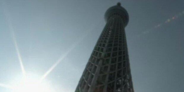 Höchster Fernsehturm der Welt eröffnet