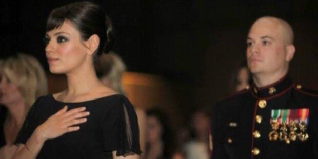 Date mit US-Soldat: Mila Kunis löst Versprechen ein