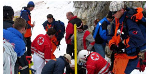 Zwei Deutsche stürzten in Tirol in die selbe Gletscherspalte
