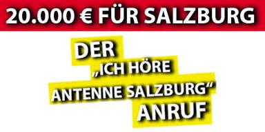 """Der """"Ich höre Antenne Salzburg"""" Anruf"""