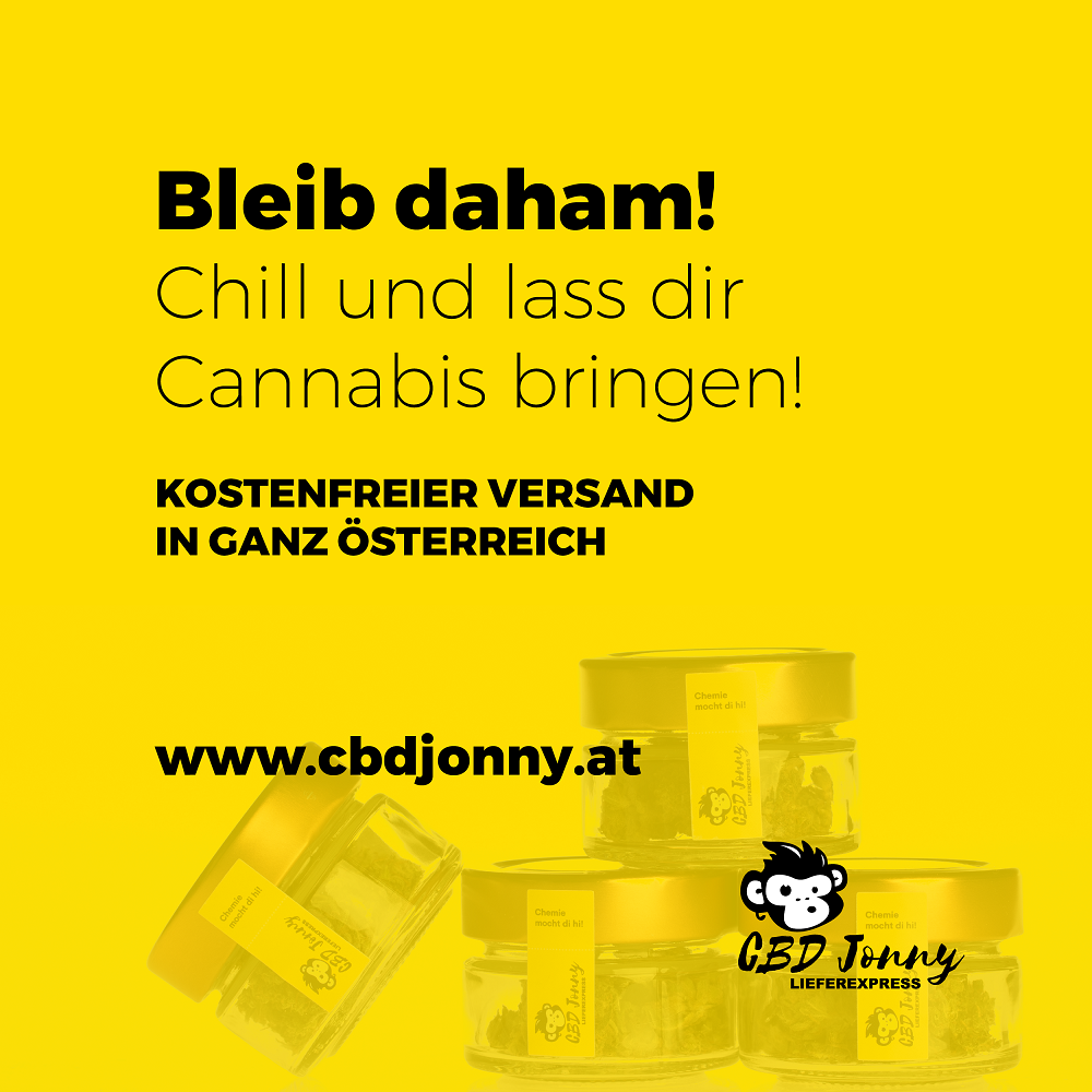 CBD Jonny - ADV - Sujet Bleib daheim