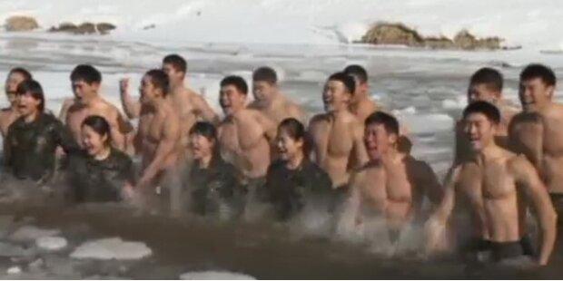 Frostiger Militärdrill in Süd-Korea