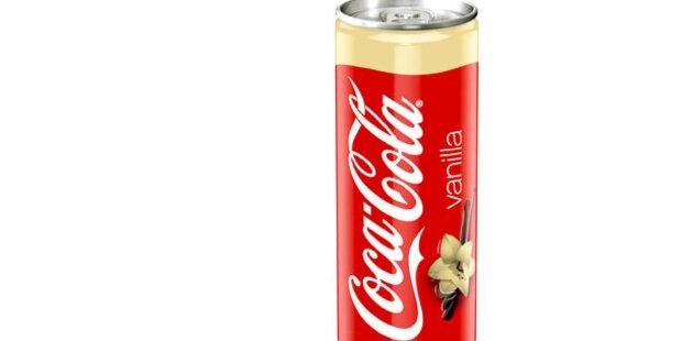 Jetzt gibt es wieder Vanilla Coke