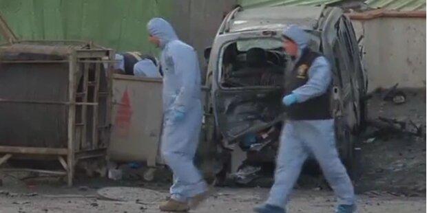 Bombenanschlag auf türkischen Polizei-Bus