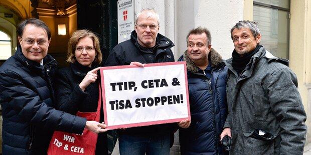 CETA: Schon 100.000 Unterschriften