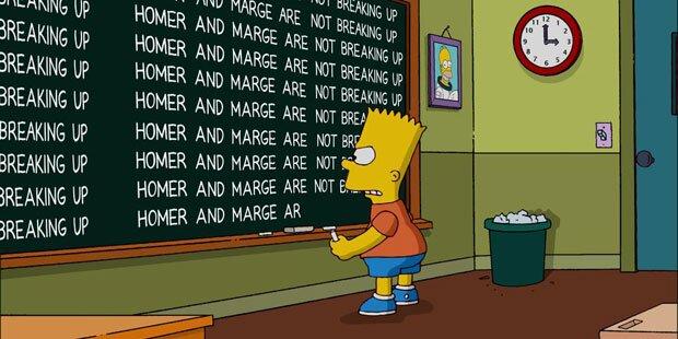 Hoffnung für Ehe von Homer & Marge