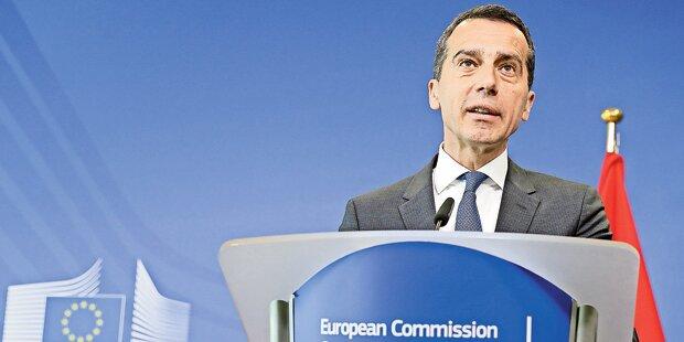 Zuerst Wiener SPÖ, dann Brüssel: Kern heute voll im Brexit-Stress