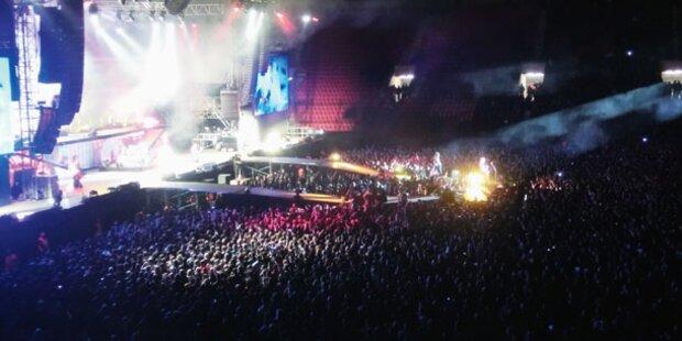 Troubles um Metallica Konzert