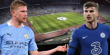 De Bruyne & Werner Atatürk-Stadion