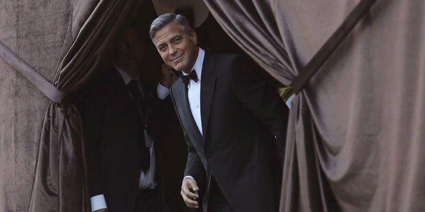 Clooney: Ja-Wort mit Amal Alamuddin in Venedig