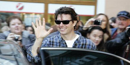 Tom Cruise ist in Salzburg gelandet