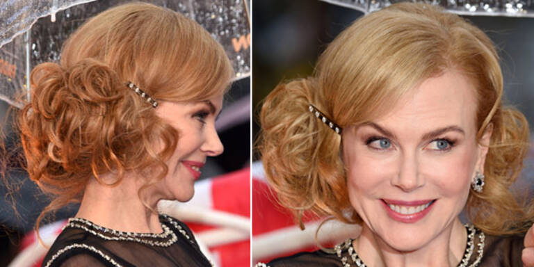 Nicole Kidman: Omafrisur und Grusel-Mimik